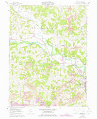 Download a high-resolution, GPS-compatible USGS topo map for Randle, OH (1978 edition)