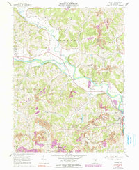 Download a high-resolution, GPS-compatible USGS topo map for Randle, OH (1991 edition)