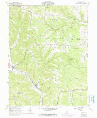Download a high-resolution, GPS-compatible USGS topo map for Rarden, OH (1991 edition)