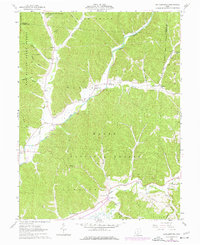 Download a high-resolution, GPS-compatible USGS topo map for Ratcliffburg, OH (1977 edition)