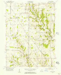 Download a high-resolution, GPS-compatible USGS topo map for Reily, OH (1956 edition)