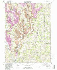 Download a high-resolution, GPS-compatible USGS topo map for Reinersville, OH (1998 edition)