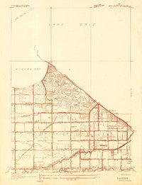 Download a high-resolution, GPS-compatible USGS topo map for Reno Beach, OH (1934 edition)
