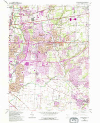 Download a high-resolution, GPS-compatible USGS topo map for Reynoldsburg, OH (1995 edition)