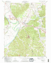 Download a high-resolution, GPS-compatible USGS topo map for Richmond Dale, OH (1995 edition)