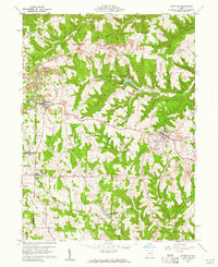 Download a high-resolution, GPS-compatible USGS topo map for Richmond, OH (1961 edition)