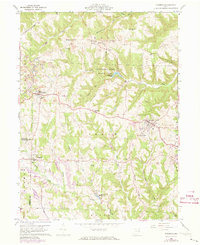 Download a high-resolution, GPS-compatible USGS topo map for Richmond, OH (1973 edition)