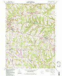 Download a high-resolution, GPS-compatible USGS topo map for Richmond, OH (1998 edition)