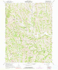 Download a high-resolution, GPS-compatible USGS topo map for Ringgold, OH (1990 edition)