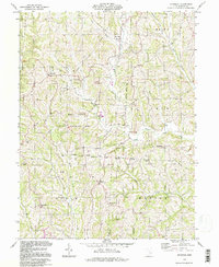 Download a high-resolution, GPS-compatible USGS topo map for Ringgold, OH (1998 edition)