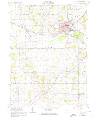 Download a high-resolution, GPS-compatible USGS topo map for Rittman, OH (1974 edition)