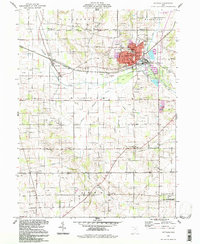 Download a high-resolution, GPS-compatible USGS topo map for Rittman, OH (1997 edition)
