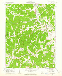 Download a high-resolution, GPS-compatible USGS topo map for Rockbridge, OH (1963 edition)