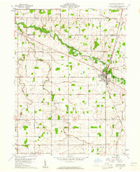 Download a high-resolution, GPS-compatible USGS topo map for Rockford, OH (1961 edition)