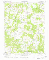 Download a high-resolution, GPS-compatible USGS topo map for Rodney, OH (1976 edition)