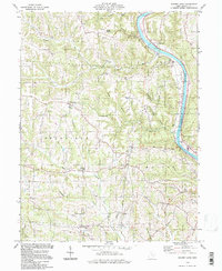 Download a high-resolution, GPS-compatible USGS topo map for Rokeby Lock, OH (1998 edition)