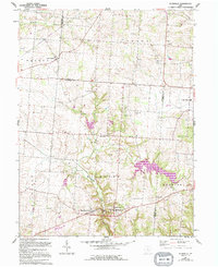 Download a high-resolution, GPS-compatible USGS topo map for Rushville, OH (1994 edition)
