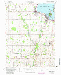 Download a high-resolution, GPS-compatible USGS topo map for Russells Point, OH (1983 edition)