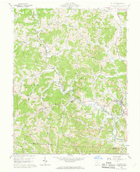 Download a high-resolution, GPS-compatible USGS topo map for Rutland, OH (1968 edition)