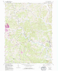 Download a high-resolution, GPS-compatible USGS topo map for Rutland, OH (1995 edition)