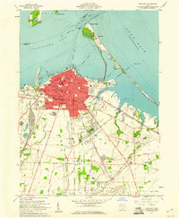 Download a high-resolution, GPS-compatible USGS topo map for Sandusky, OH (1960 edition)