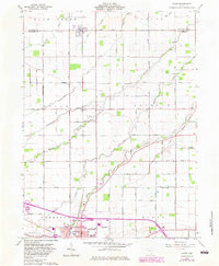 Download a high-resolution, GPS-compatible USGS topo map for Scott, OH (1983 edition)