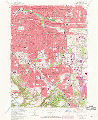 Download a high-resolution, GPS-compatible USGS topo map for Shaker Heights, OH (1971 edition)