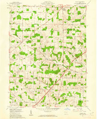Download a high-resolution, GPS-compatible USGS topo map for Shauck, OH (1962 edition)