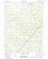 Download a high-resolution, GPS-compatible USGS topo map for Shauck, OH (1990 edition)