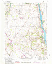 Download a high-resolution, GPS-compatible USGS topo map for Shawnee Hills, OH (1984 edition)