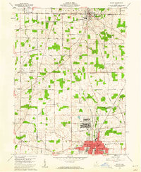 Download a high-resolution, GPS-compatible USGS topo map for Shelby, OH (1961 edition)