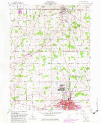 Download a high-resolution, GPS-compatible USGS topo map for Shelby, OH (1983 edition)