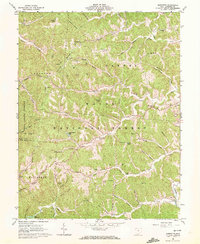 Download a high-resolution, GPS-compatible USGS topo map for Sherritts, OH (1972 edition)