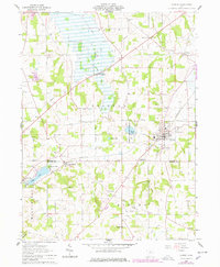 Download a high-resolution, GPS-compatible USGS topo map for Shreve, OH (1978 edition)