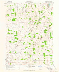 Download a high-resolution, GPS-compatible USGS topo map for Silver Creek, OH (1962 edition)