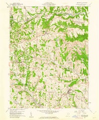 Download a high-resolution, GPS-compatible USGS topo map for Smithfield, OH (1961 edition)