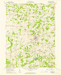 Download a high-resolution, GPS-compatible USGS topo map for Somerset, OH (1963 edition)