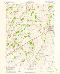 Download a high-resolution, GPS-compatible USGS topo map for South Charleston, OH (1963 edition)