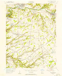 Download a high-resolution, GPS-compatible USGS topo map for South Lebanon, OH (1956 edition)