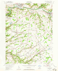 Download a high-resolution, GPS-compatible USGS topo map for South Lebanon, OH (1965 edition)