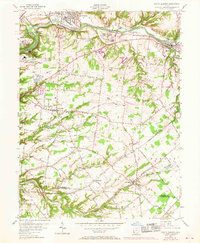 Download a high-resolution, GPS-compatible USGS topo map for South Lebanon, OH (1968 edition)