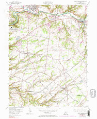 Download a high-resolution, GPS-compatible USGS topo map for South Lebanon, OH (1984 edition)