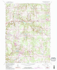 Download a high-resolution, GPS-compatible USGS topo map for South Russell, OH (1991 edition)