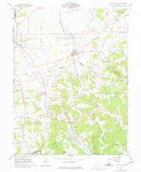Download a high-resolution, GPS-compatible USGS topo map for South Salem, OH (1975 edition)