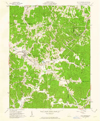 Download a high-resolution, GPS-compatible USGS topo map for South Webster, OH (1962 edition)