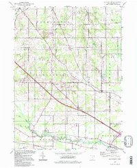 Download a high-resolution, GPS-compatible USGS topo map for Southington, OH (1997 edition)