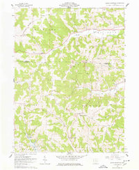 Download a high-resolution, GPS-compatible USGS topo map for Spring Mountain, OH (1978 edition)