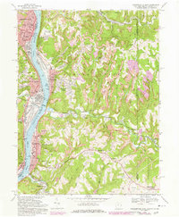 Download a high-resolution, GPS-compatible USGS topo map for Steubenville East, OH (1978 edition)