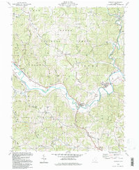 Download a high-resolution, GPS-compatible USGS topo map for Stewart, OH (1998 edition)