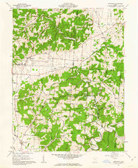 Download a high-resolution, GPS-compatible USGS topo map for Stockdale, OH (1962 edition)